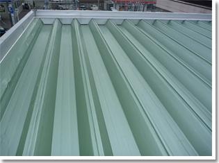 折板屋根施工事例