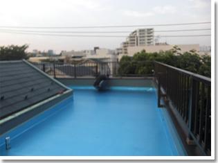 屋上屋根施工事例