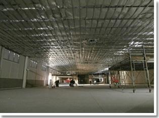 工場天井裏施工事例