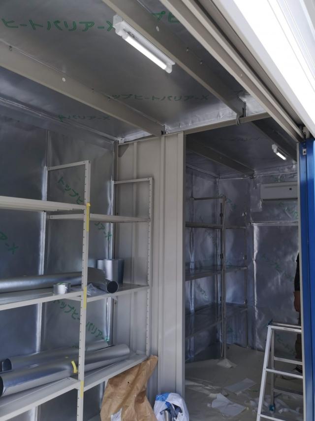 野菜一時保管倉庫